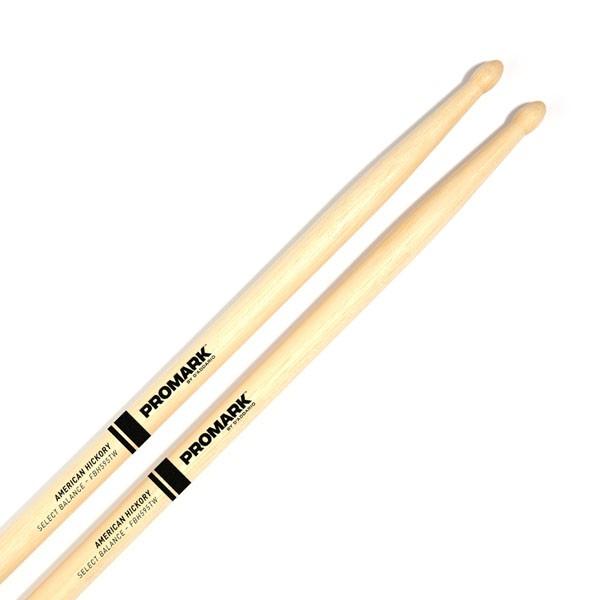 FBH595TW 5В Select Forward Balance Барабанные палочки, смещенный баланс, орех гикори, деревянный нак